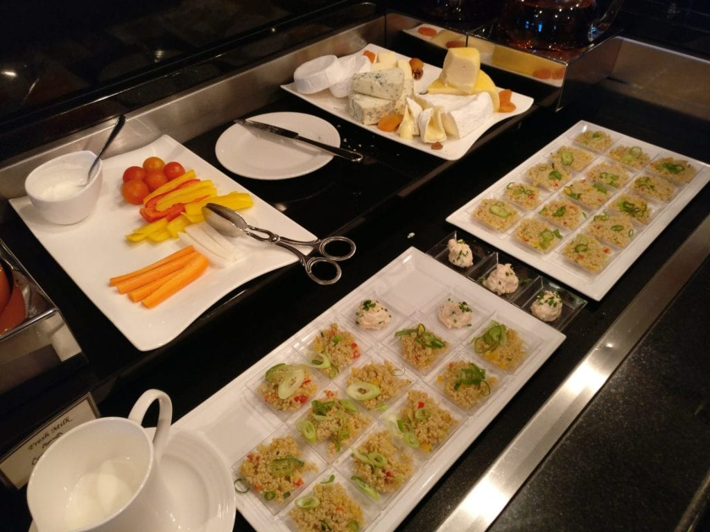 Hilton Prague Old Town Executive Lounge Evening Spread 2