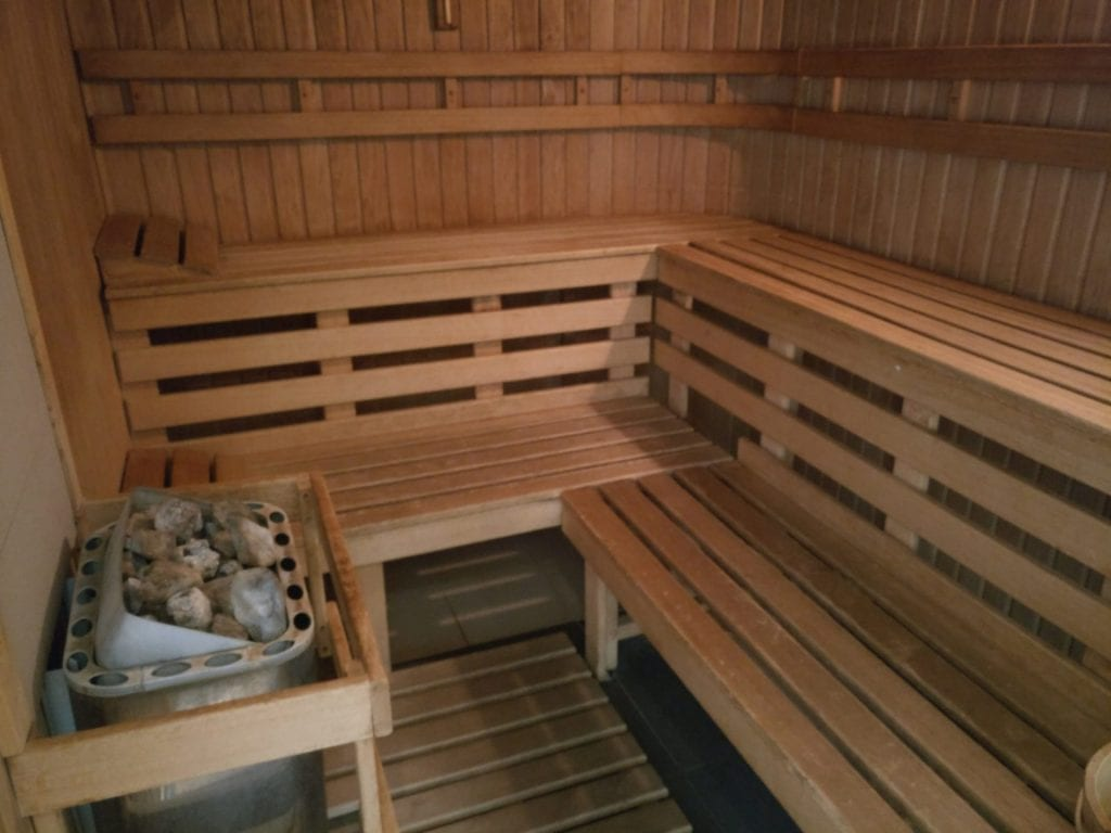Hilton Prague Old Town Sauna