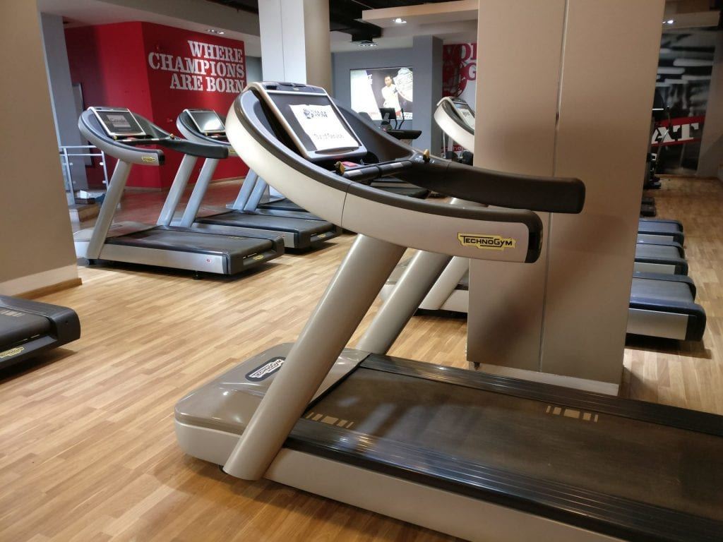 Hilton Pyramids Golf Resort Gym