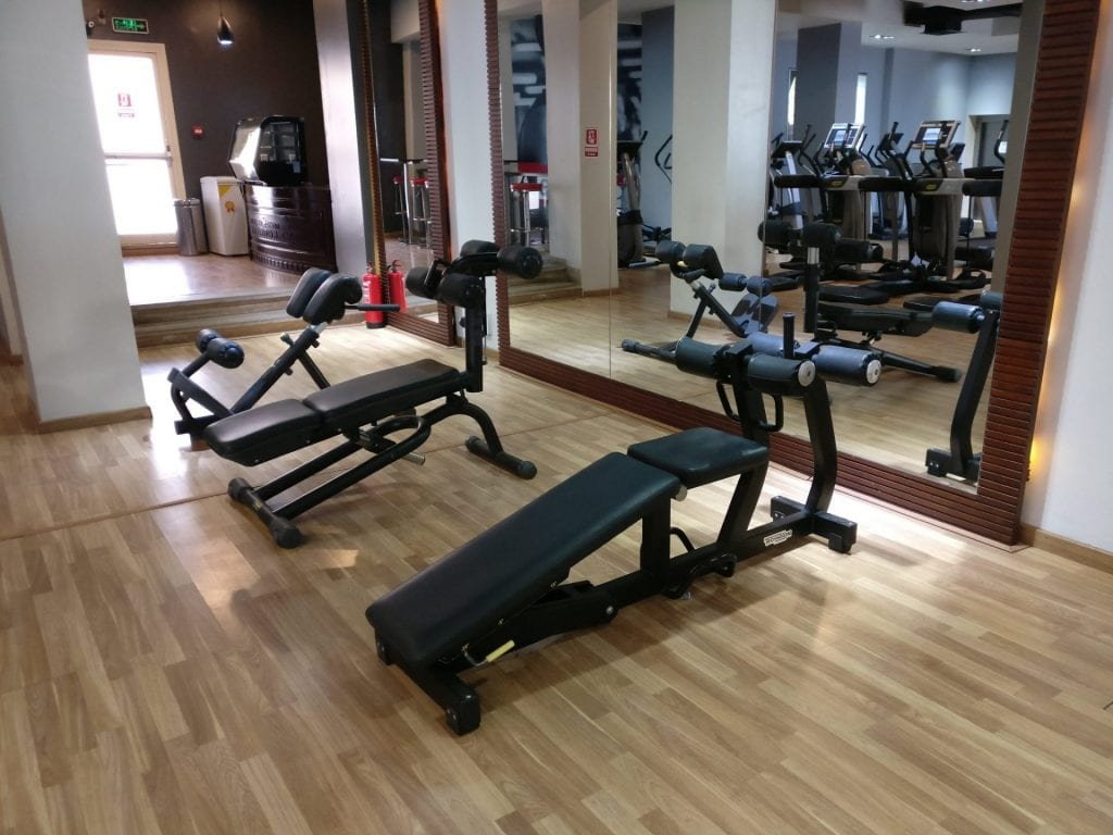 Hilton Pyramids Golf Resort Gym 2