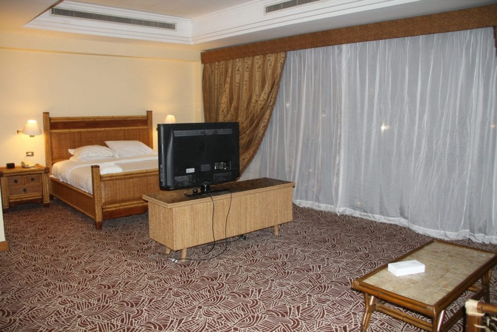 Hilton Pyramids Golf Resort Presidential Suite Bedroom