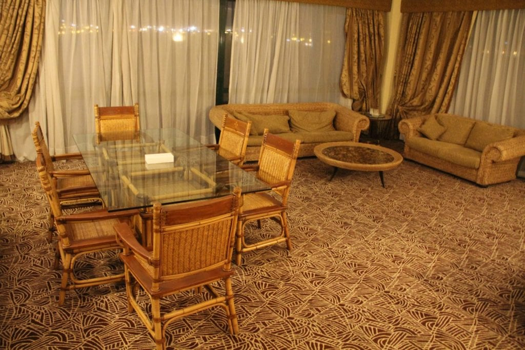Hilton Pyramids Golf Resort Presidential Suite Living Room 3