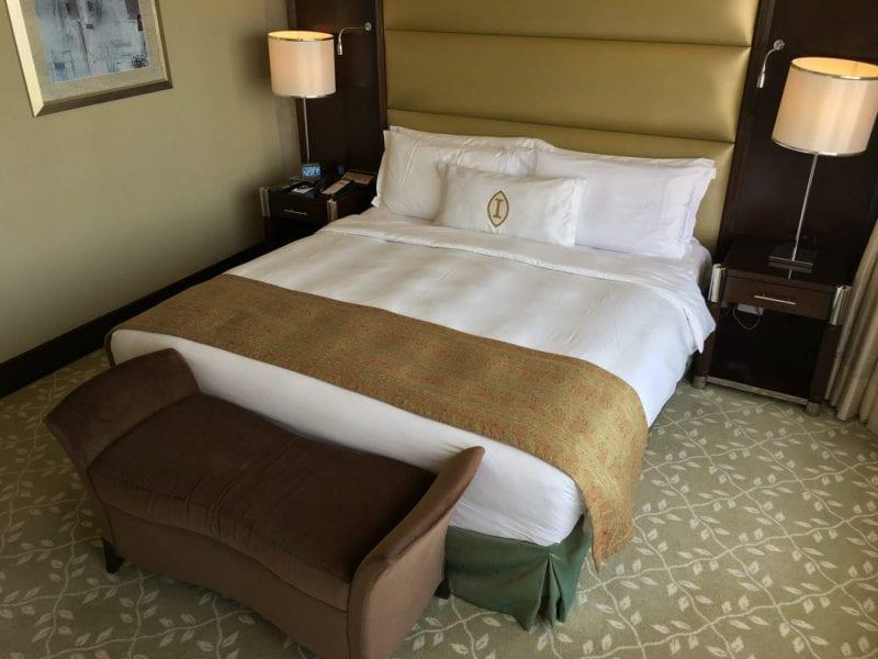 InterContinental Abu Dhabi Bett