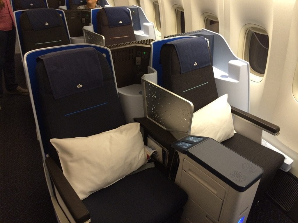KLM Business Class Boeing 777 1