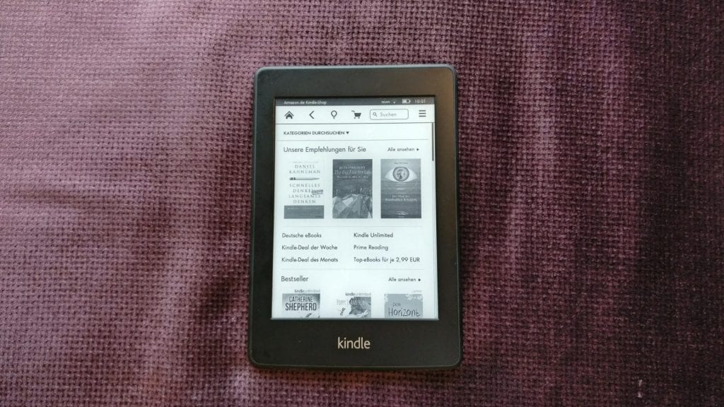 Kindle eBook Reader Shop
