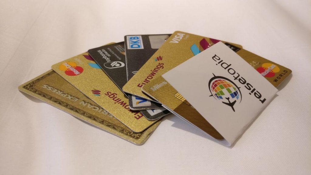 Kreditkarten reisetopia