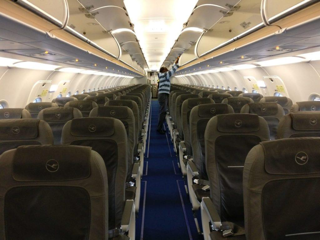 Lufthansa Economy Class Airbus A320