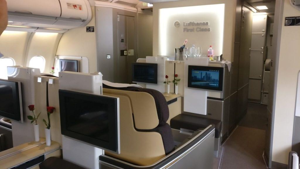 Barclaycard Platinum Double Lufthansa First Class