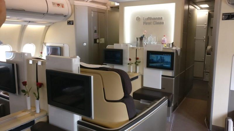 Lufthansa First Class Cabin 2
