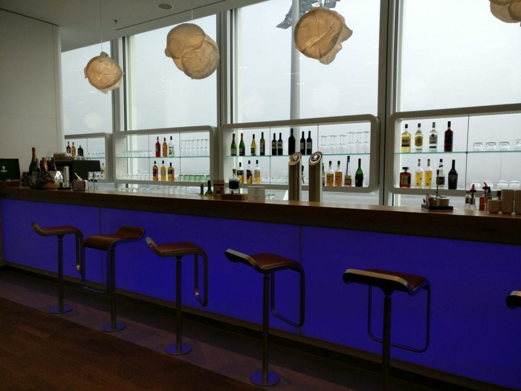 Lufthansa Senator Lounge Munich L11 Bar