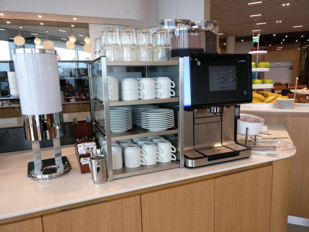 Lufthansa Senator Lounge Munich L11 Buffet 4