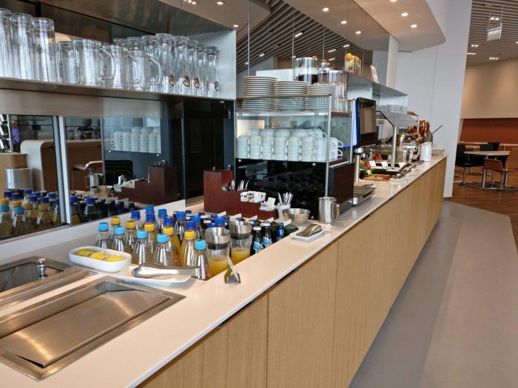 Lufthansa Senator Lounge Munich L11 Buffet 6
