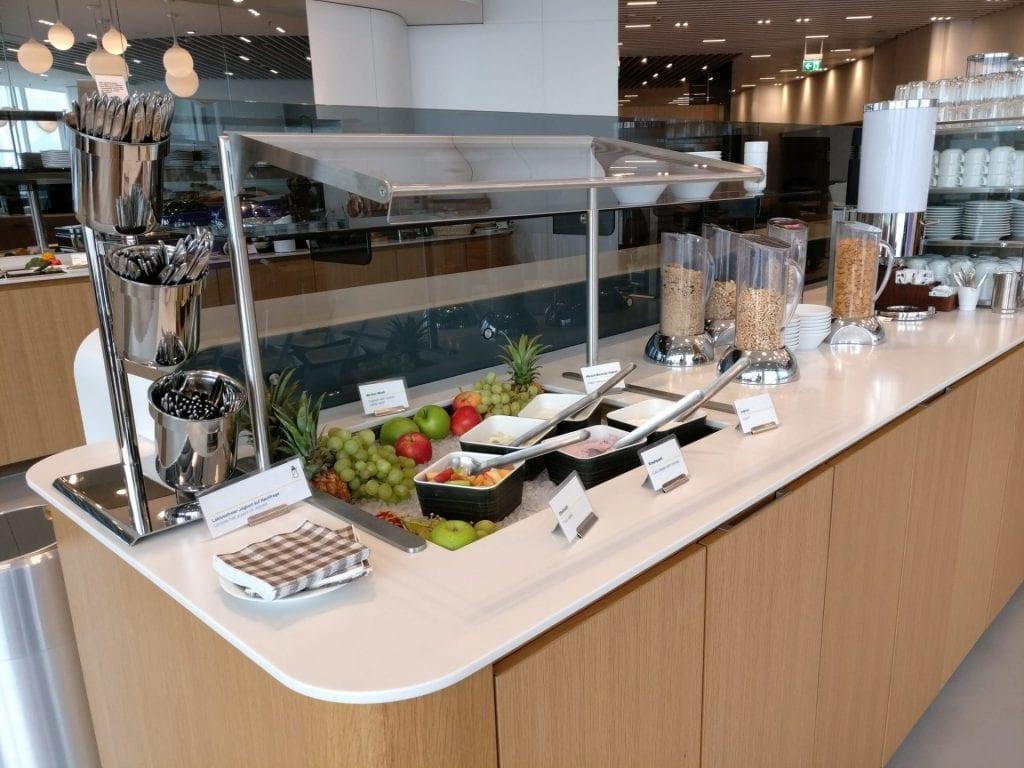 Lufthansa Senator Lounge Munich L11 Buffet 7