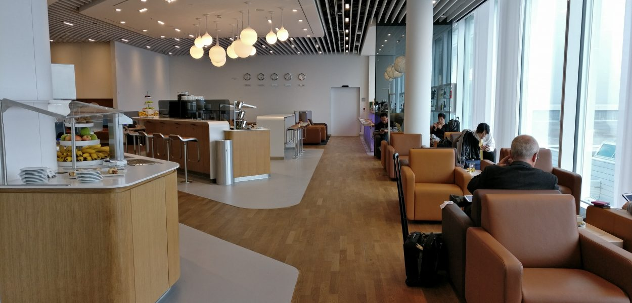 Lufthansa Senator Lounge Munich L11 Seating