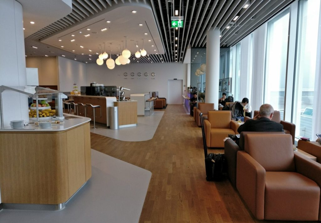 SAS Eurobonus Lounge Zugang Lufthansa
