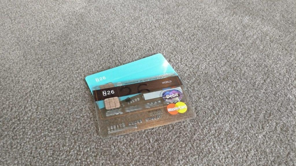 N26 Mastercard Kreditkarte
