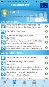 Passagierrechte App