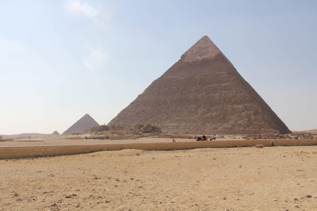 Pyramids of Gizeh 2
