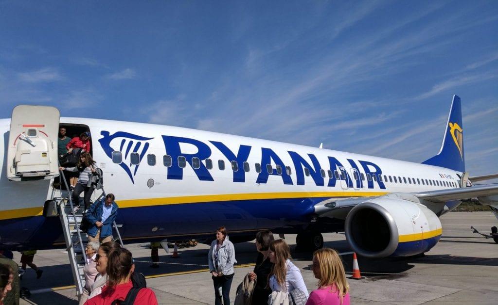 Ryanair Boeing 737 London Stansted
