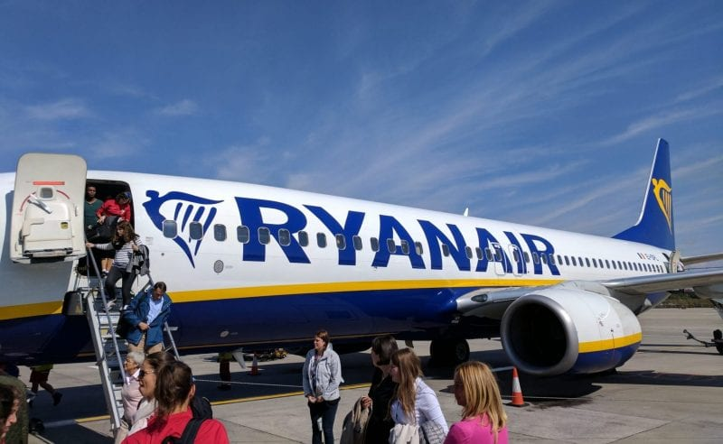 Ryanair Boeing 737 London Stansted
