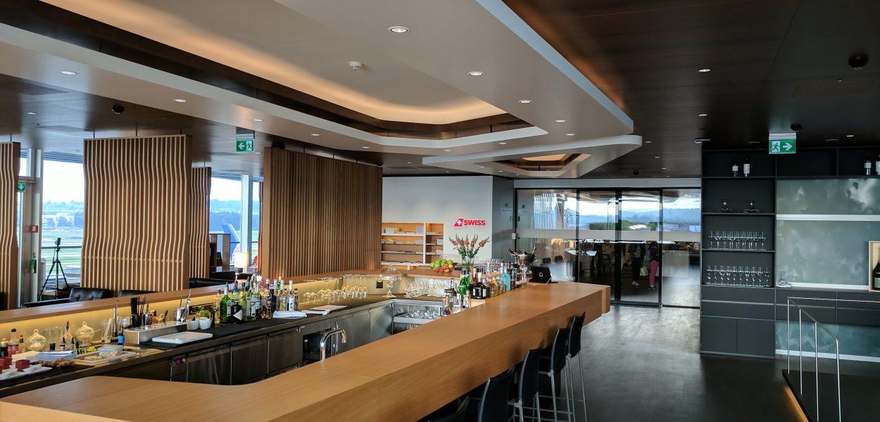Swiss First Class Lounge 1