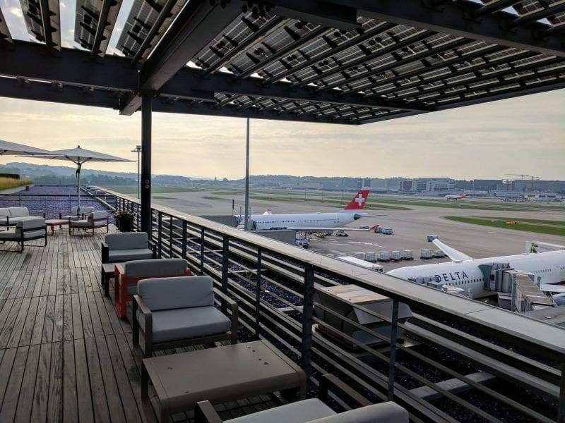 Swiss First Class Lounge Zürich E Terrasse (2)