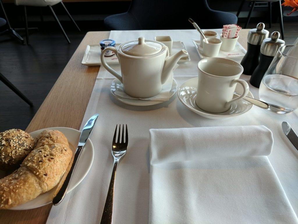 Swiss First Class Lounge Zürich E Tischset