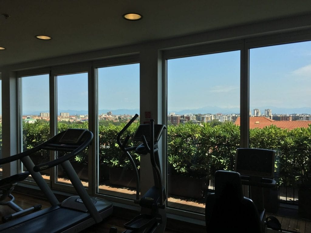 crowne plaza milan city fitness 1