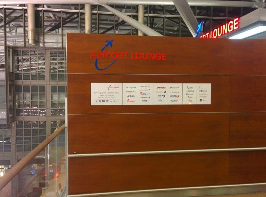 hamburg airport lounge eingang