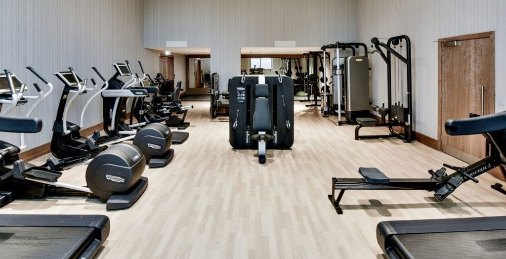 intercontinental london the o2 fitness