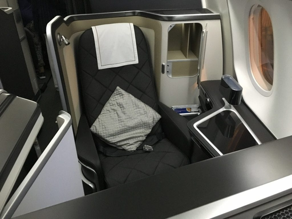 British Airways First Class 787 9_ 4