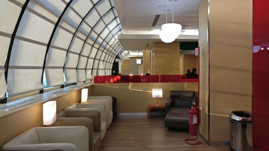 Casa Alitalia Rome D Seating 2