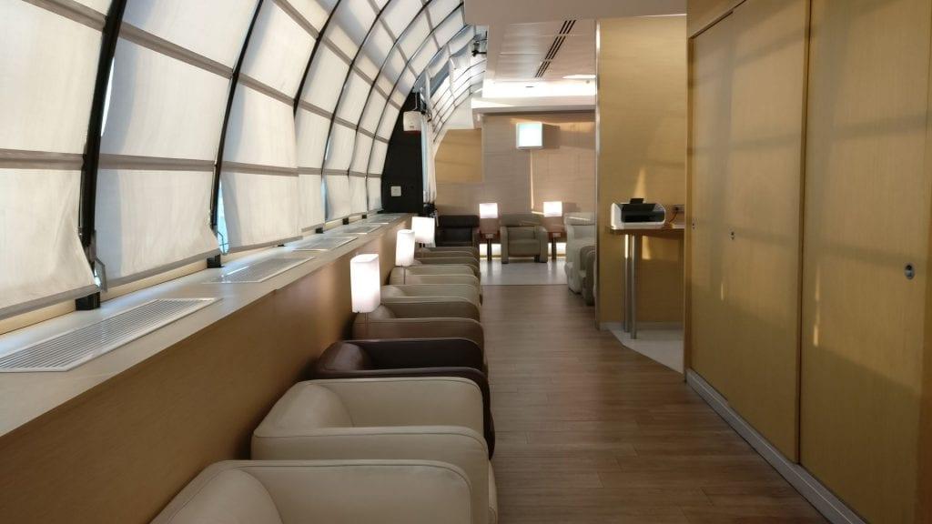 Casa Alitalia Rome D Seating 3