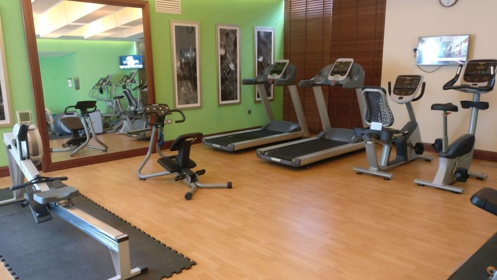 Hilton Garden Inn Dubai Al Muraqabat Gym