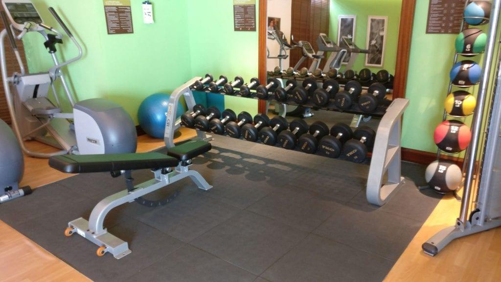 Hilton Garden Inn Dubai Al Muraqabat Gym 2