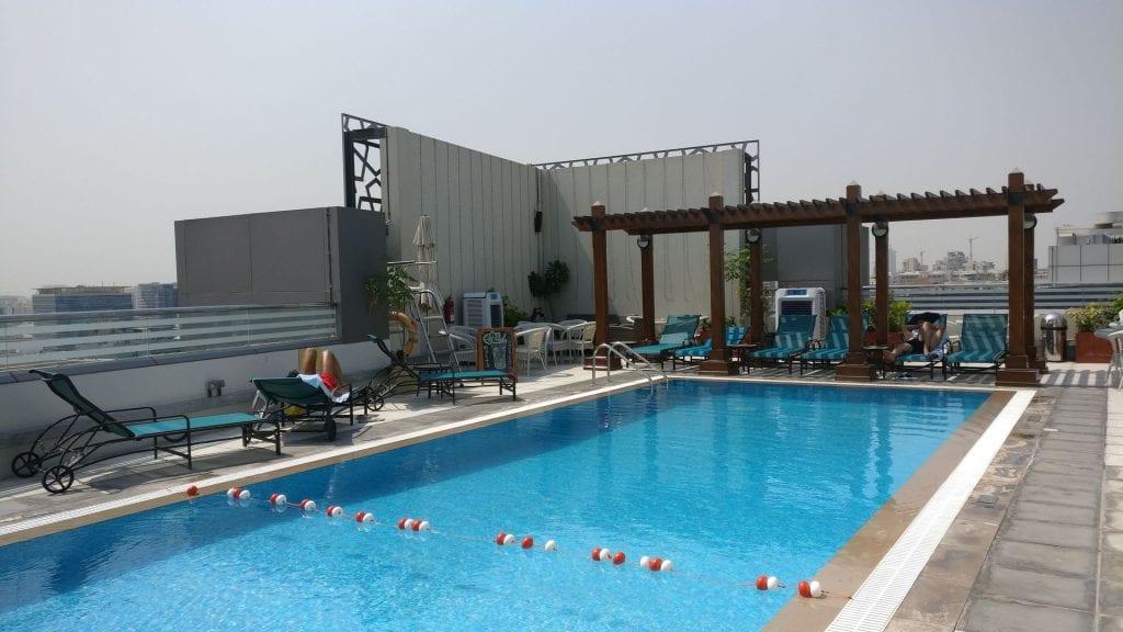 Hilton Garden Inn Dubai Al Muraqabat Pool