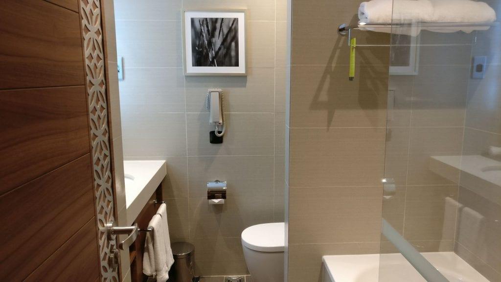 Hilton Garden Inn Dubai Al Muraqabat Suite Bathroom 2