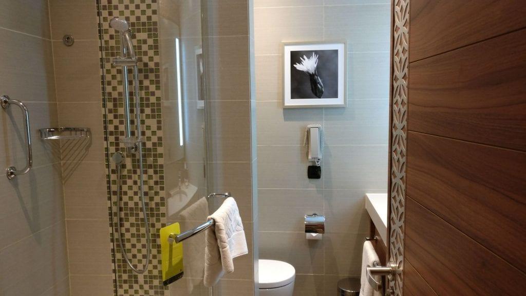 Hilton Garden Inn Dubai Al Muraqabat Suite Bathroom 8