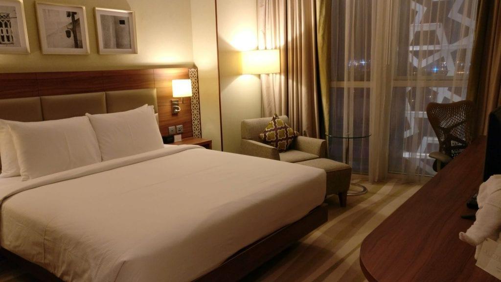 Hilton Garden Inn Dubai Al Muraqabat Suite Bedroom