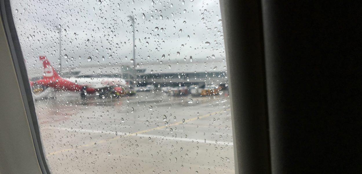 Air Berlin aus Fenster