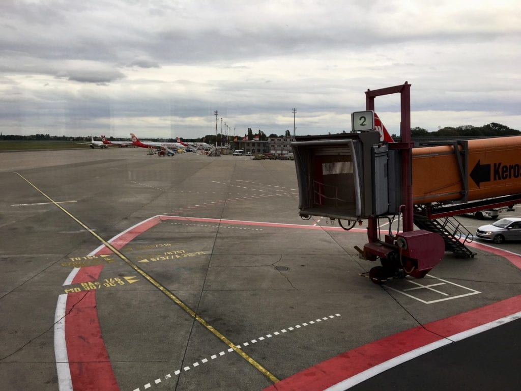 Air Berlin Rollfeld Tegel