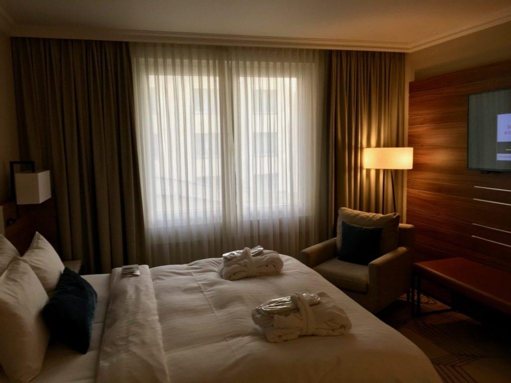 Marriott Prag zweites Schlafzimmer