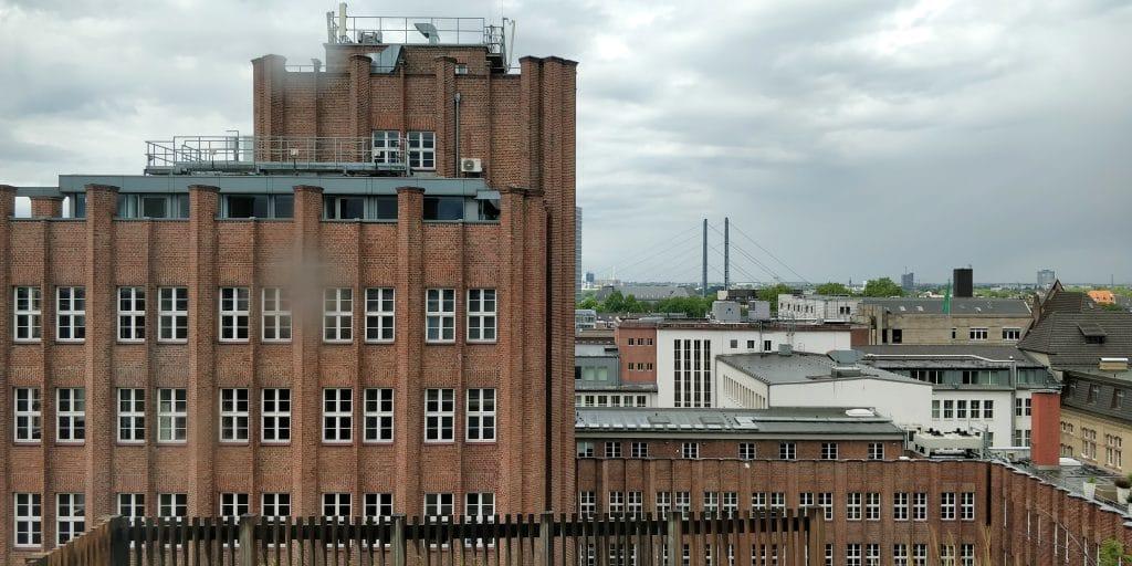 InterContinental Düsseldorf Ausblick
