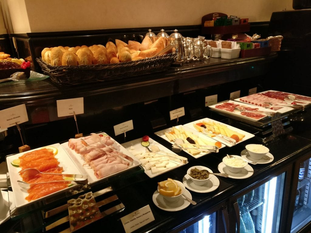 InterContinental Madrid Club Breakfast