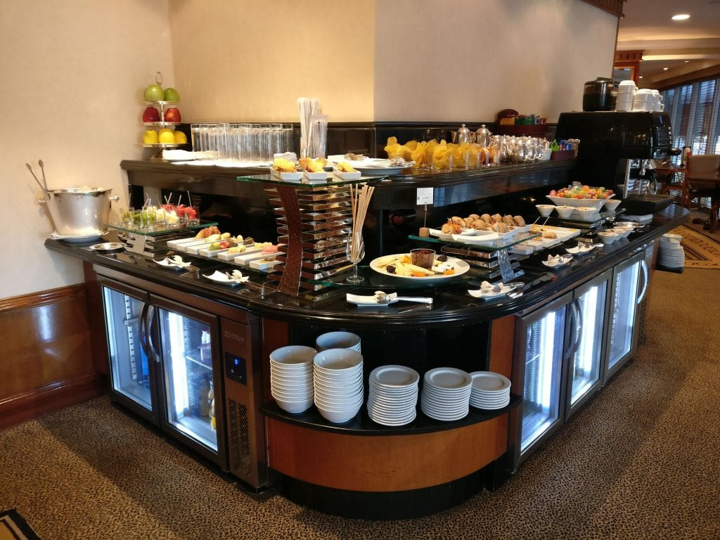 InterContinental Madrid Club Buffet 3