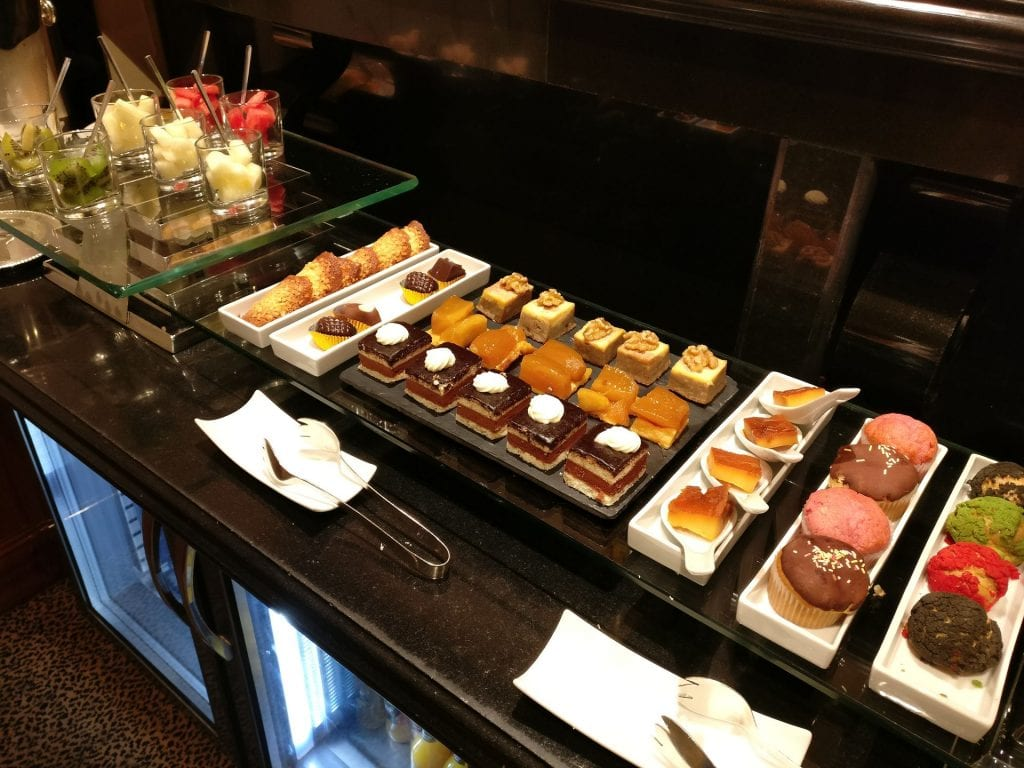 InterContinental Madrid Club Buffet 4
