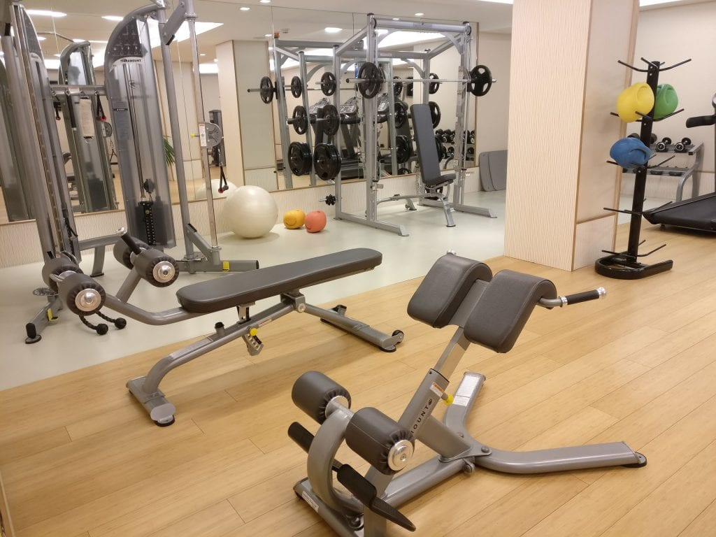 InterContinental Madrid Gym