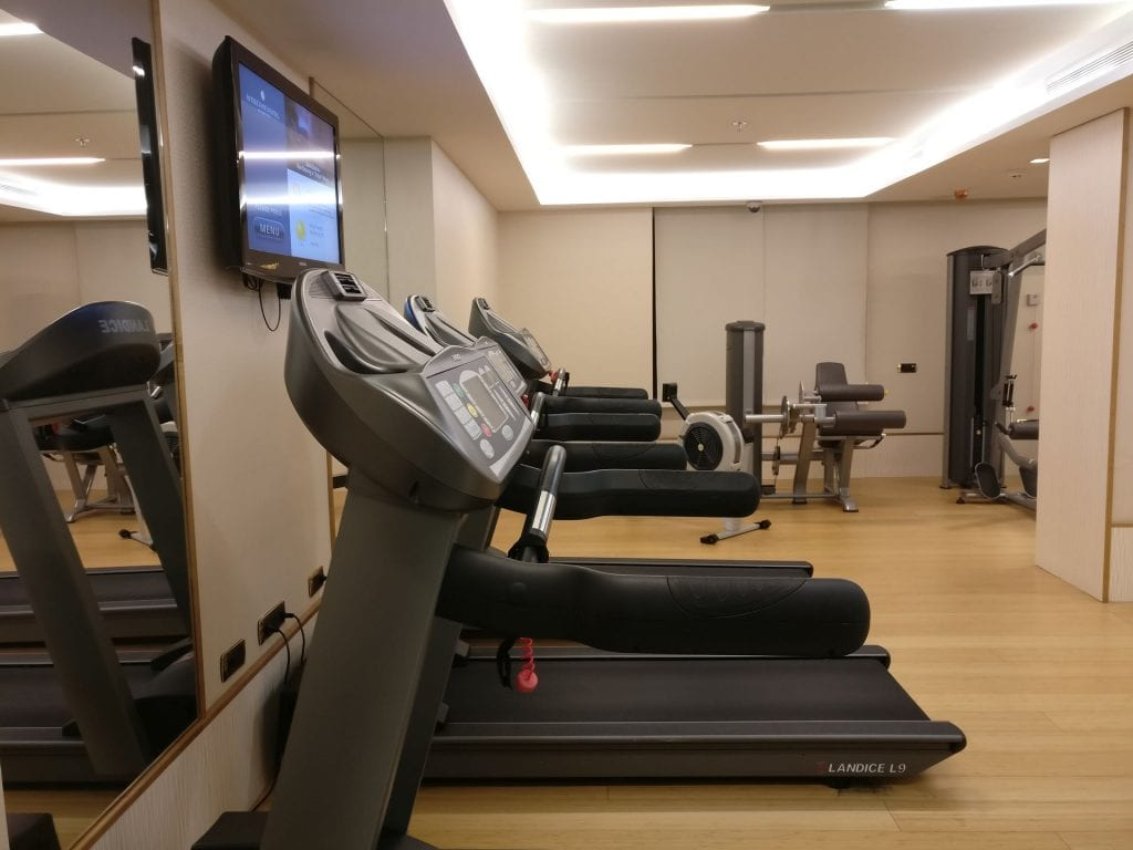 InterContinental Madrid Gym 3
