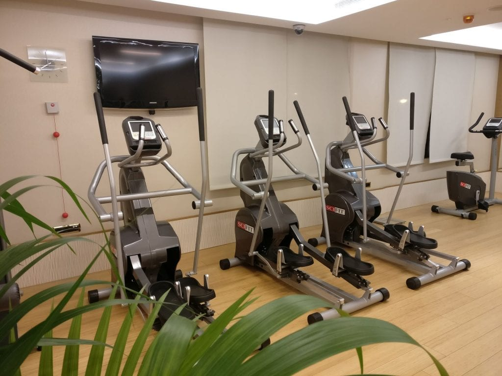 InterContinental Madrid Gym 4