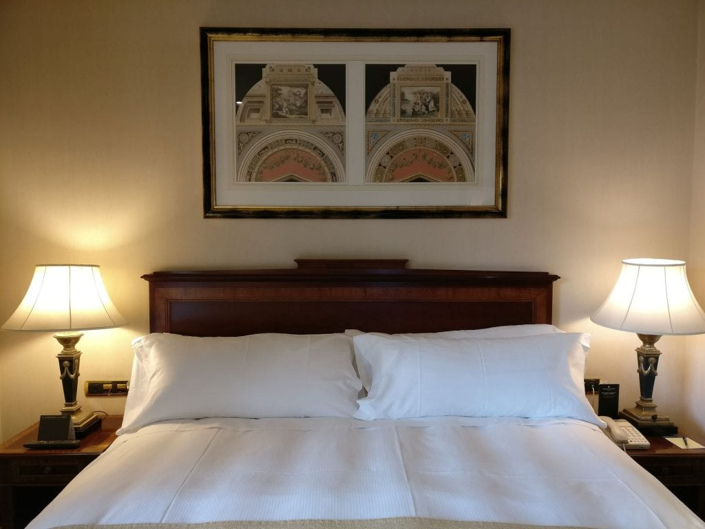 InterContinental Madrid Premium Suite Bedroom 2